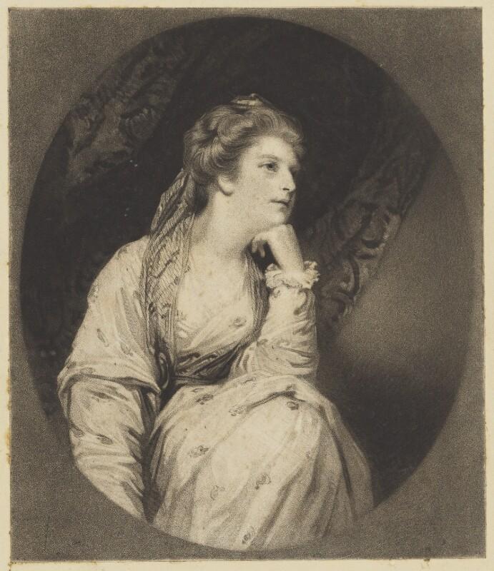 Maria (née Walpole), Duchess of Gloucester and Edinburgh, by Samuel William Reynolds, after  Sir Joshua Reynolds, published 1823 - NPG D10797 - © National Portrait Gallery, London