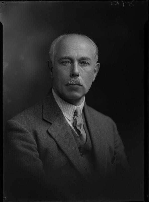 Francis William Ashton, by Lafayette, 9 November 1931 - NPG x47835 - © National Portrait Gallery, London