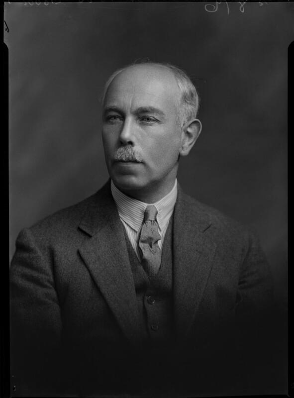 Francis William Ashton, by Lafayette (Lafayette Ltd), 9 November 1931 - NPG x47836 - © National Portrait Gallery, London