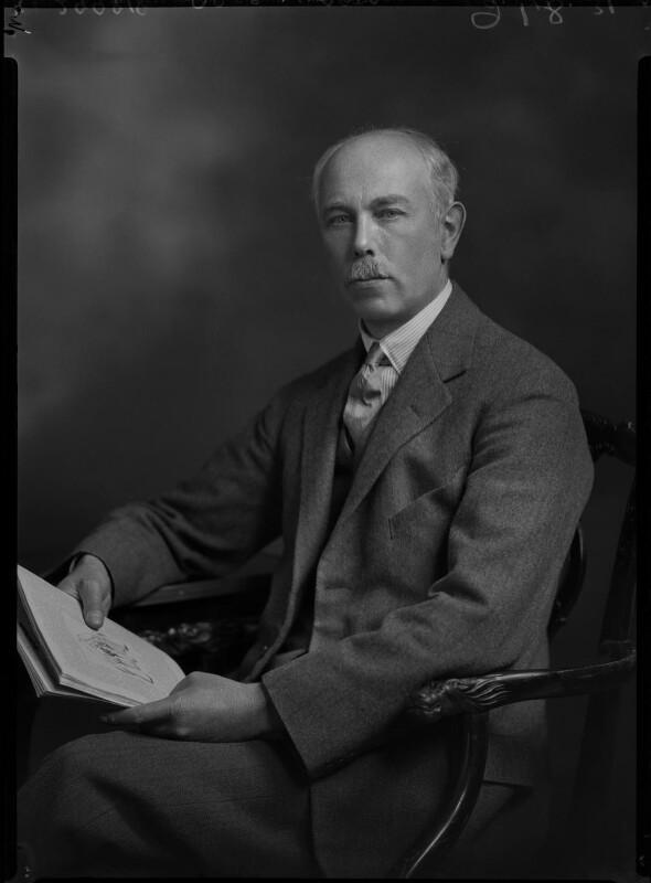 Francis William Ashton, by Lafayette (Lafayette Ltd), 9 November 1931 - NPG x47837 - © National Portrait Gallery, London