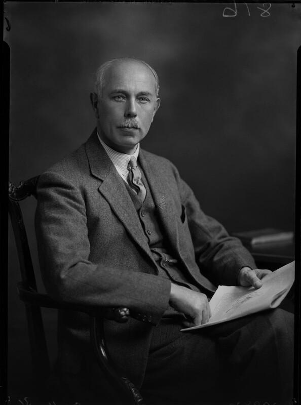 Francis William Ashton, by Lafayette, 9 November 1931 - NPG x47839 - © National Portrait Gallery, London