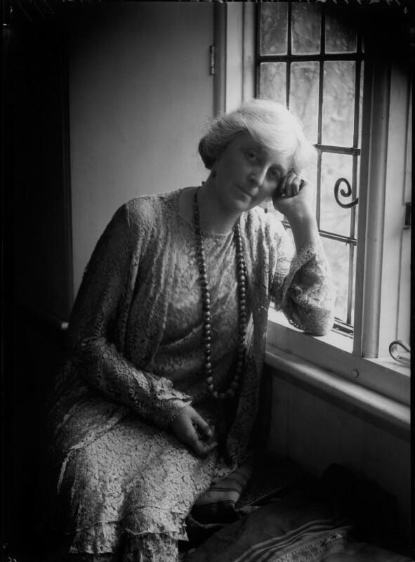 Violet Mary Stella Allen (née Aldsworth), by Lafayette (Lafayette Ltd), 11 November 1931 - NPG x47851 - © National Portrait Gallery, London