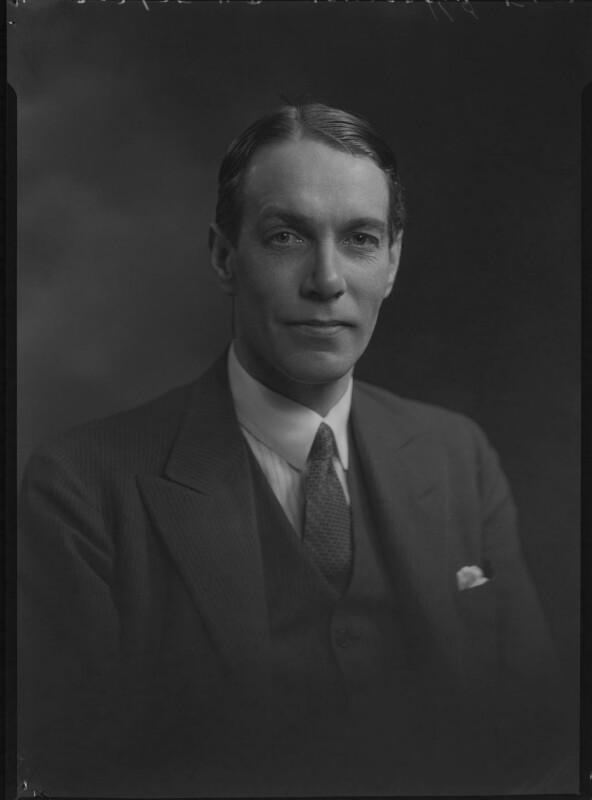 Sir Hubert Douglas Henderson, by Lafayette, 5 January 1932 - NPG x48003 - © National Portrait Gallery, London