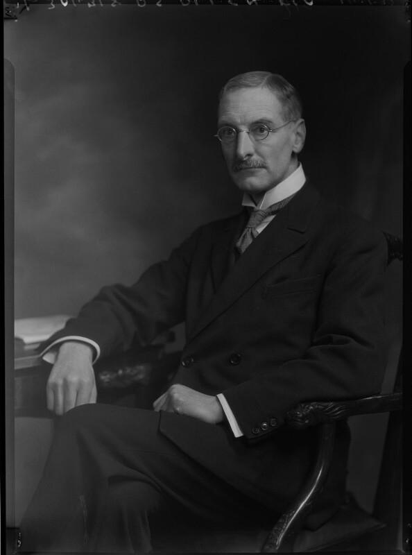 Percy Stafford Allen, by Lafayette (Lafayette Ltd), 14 January 1932 - NPG x48033 - © National Portrait Gallery, London