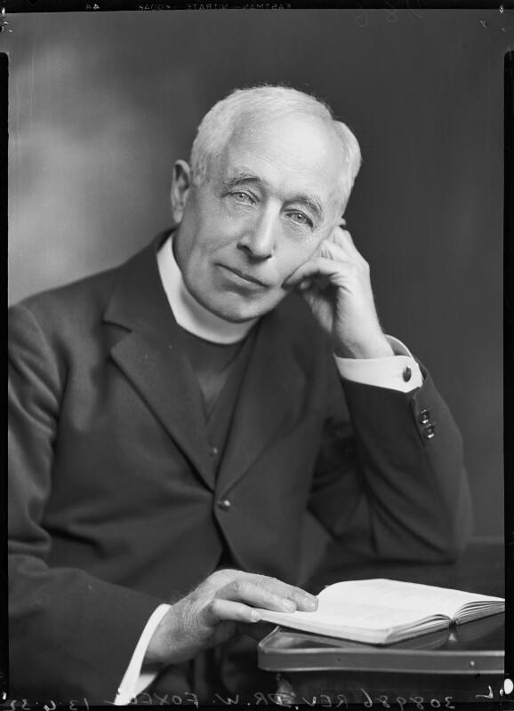 William James Foxell, by Lafayette, 13 April 1932 - NPG x48132 - © National Portrait Gallery, London