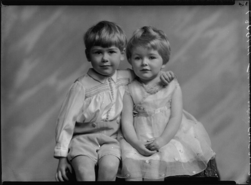 Anthony Charles Reynardson Fane; Daphne Sybil Fane, by Lafayette (Lafayette Ltd), 21 April 1932 - NPG x48163 - © National Portrait Gallery, London
