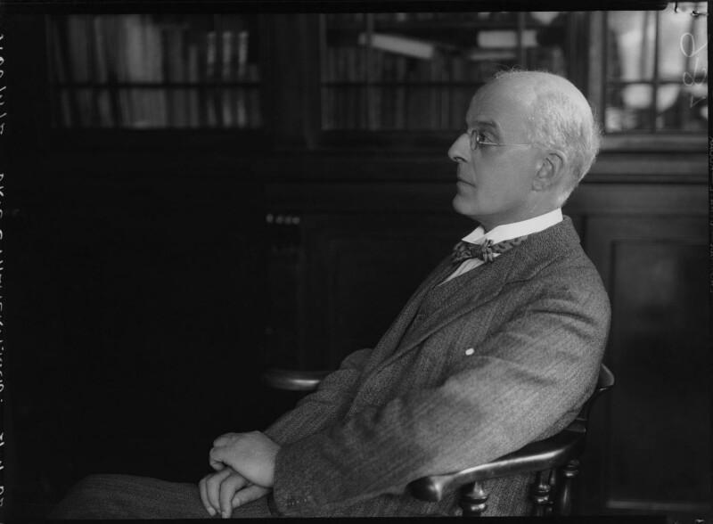 Clement Charlton Palmer, by Lafayette, 21 April 1932 - NPG x48164 - © National Portrait Gallery, London