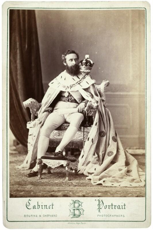 Edward Robert Bulwer-Lytton, 1st Earl of Lytton, by Bourne & Shepherd, 1877 - NPG x13100 - © National Portrait Gallery, London