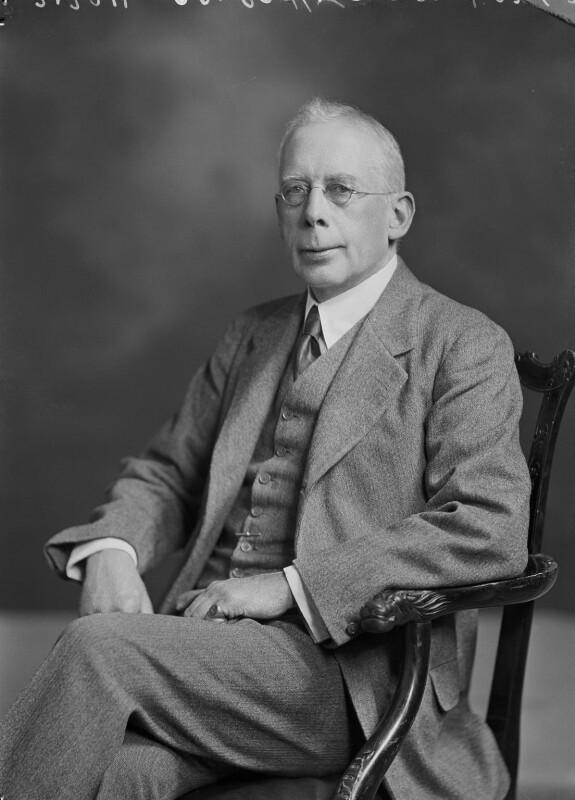 Campbell Dodgson, by Lafayette, 24 June 1932 - NPG x48228 - © National Portrait Gallery, London