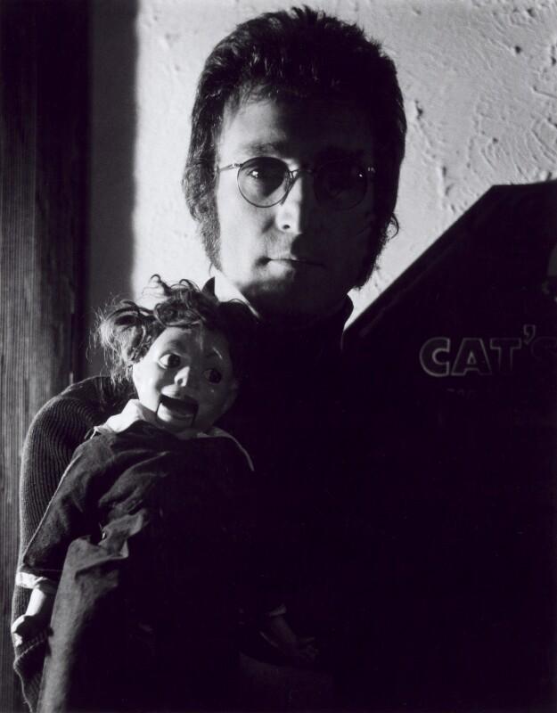 John Lennon, by Tom Zimberoff, 1974 - NPG x24810 - © Tom Zimberoff