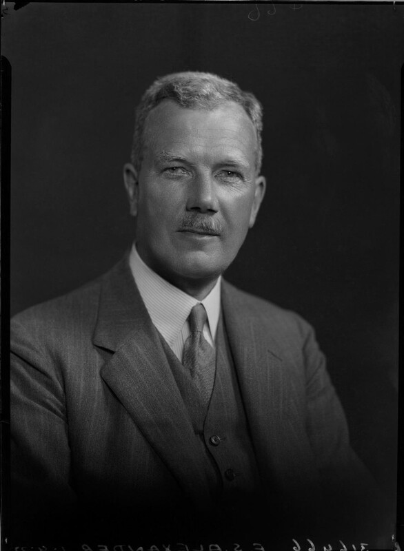 Sir Frank Samuel Alexander, 1st Bt, by Lafayette, 1 September 1932 - NPG x48297 - © National Portrait Gallery, London