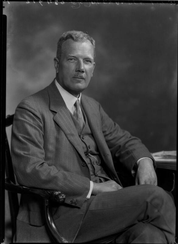 Sir Frank Samuel Alexander, 1st Bt, by Lafayette (Lafayette Ltd), 1 September 1932 - NPG x48299 - © National Portrait Gallery, London
