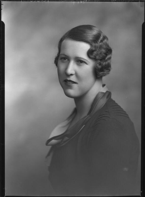 Lady Katharine Jane Elizabeth Armitage, by Lafayette, 18 October 1933 - NPG x48533 - © National Portrait Gallery, London