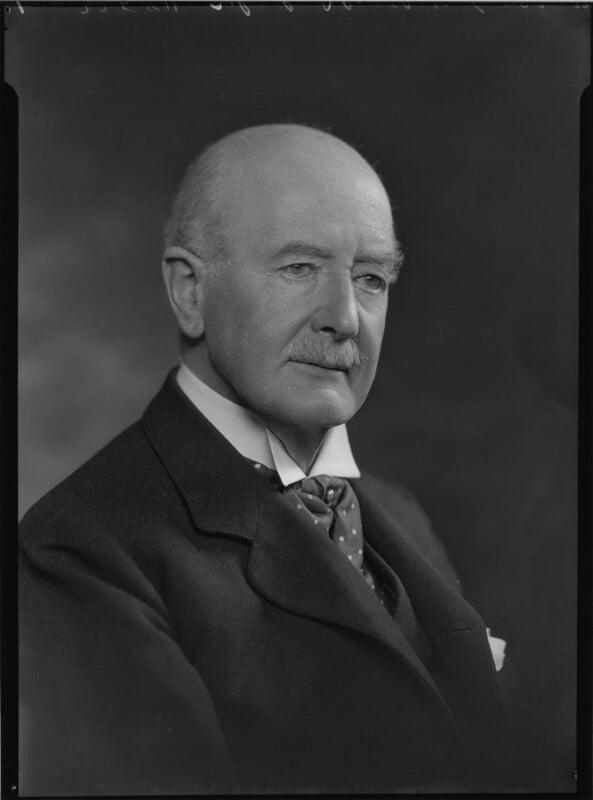 Sir Robert Armstrong-Jones, by Lafayette (Lafayette Ltd), 7 December 1933 - NPG x48639 - © National Portrait Gallery, London
