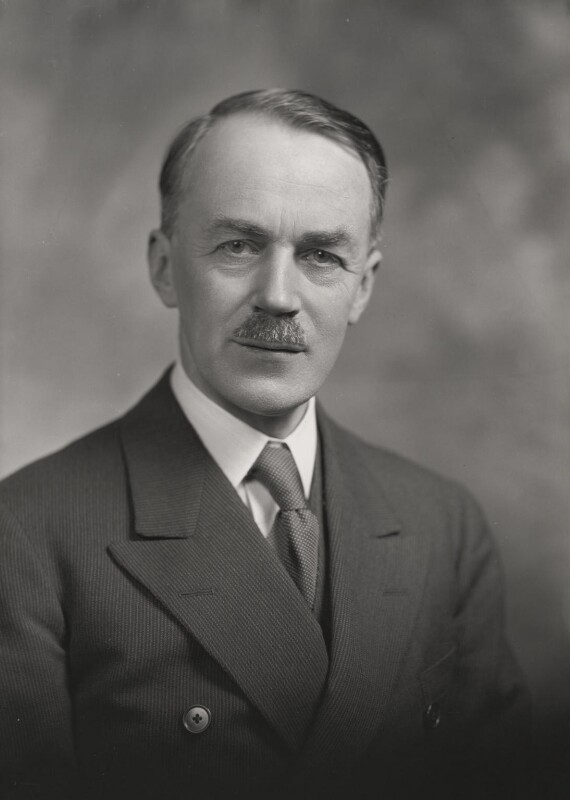 Stanley Cursiter, by Lafayette, 31 January 1934 - NPG x48691 - © National Portrait Gallery, London