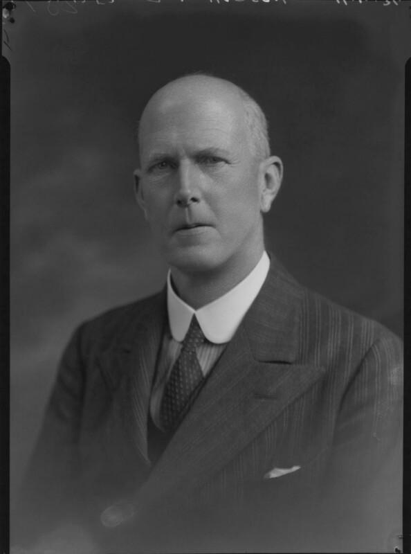 Robert Lockhart Hobson, by Lafayette, 11 April 1934 - NPG x48723 - © National Portrait Gallery, London