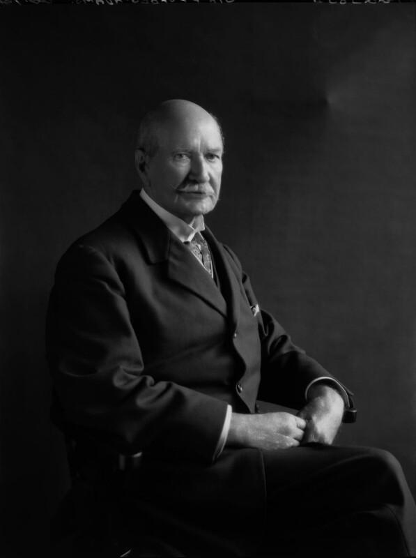 Sir Frank Forbes Adam, 1st Bt, by Lafayette, 22 July 1926 - NPG x48837 - © National Portrait Gallery, London