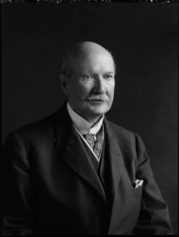 Sir Frank Forbes Adam, 1st Bt, by Lafayette (Lafayette Ltd), 22 July 1926 - NPG x48838 - © National Portrait Gallery, London