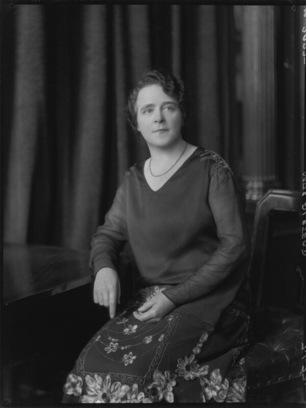 Annie Alstead (née Deakin), by Lafayette (Lafayette Ltd), 7 January 1927 - NPG x48893 - © National Portrait Gallery, London