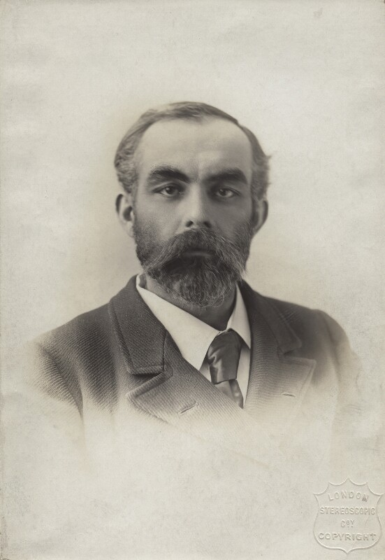 John Elliott Burns, by London Stereoscopic & Photographic Company, mid 1890s - NPG x4922 - © National Portrait Gallery, London