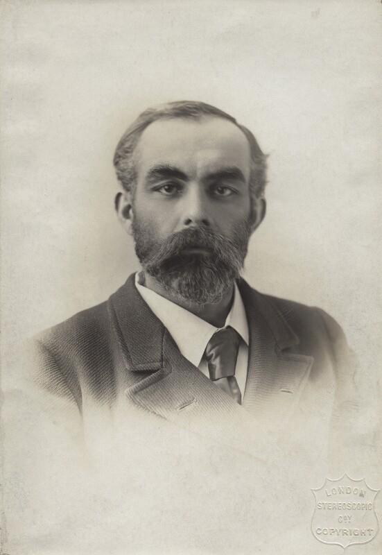 John Elliott Burns, by London Stereoscopic & Photographic Company, mid 1890s - NPG x4922 - © National Portrait Gallery, London