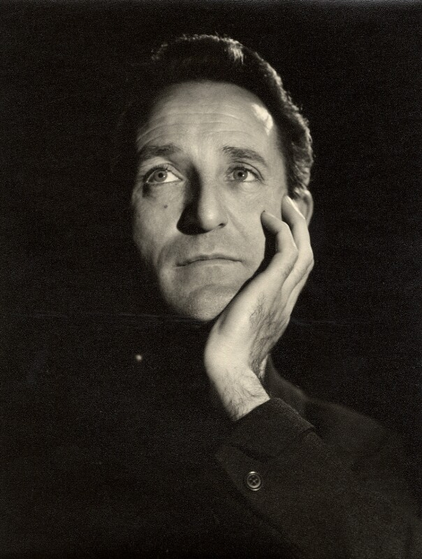 Alan Badel, by Vivienne, 1950s - NPG x87897 - © reserved; collection National Portrait Gallery, London