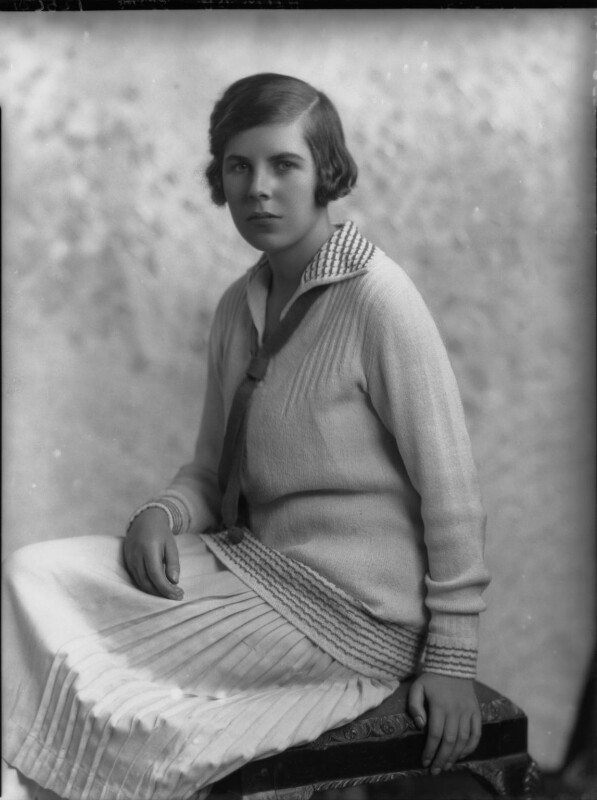 Hon. Betty Ellen Askwith, by Lafayette (Lafayette Ltd), 18 May 1927 - NPG x49291 - © National Portrait Gallery, London