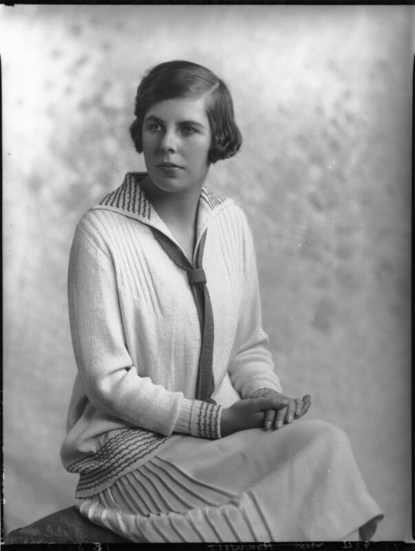 Hon. Betty Ellen Askwith, by Lafayette (Lafayette Ltd), 18 May 1927 - NPG x49292 - © National Portrait Gallery, London