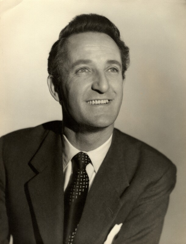 Alan Badel, by Vivienne, 1950s - NPG x87898 - © reserved; collection National Portrait Gallery, London
