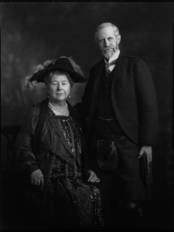 Marquess and Marchioness of Aberdeen and Temair, by Lafayette (Lafayette Ltd), 7 November 1927 - NPG x49418 - © National Portrait Gallery, London