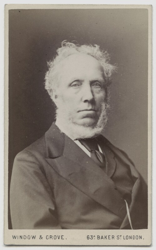 Sir Edward Baines, by Window & Grove, 1870s - NPG x4949 - © National Portrait Gallery, London