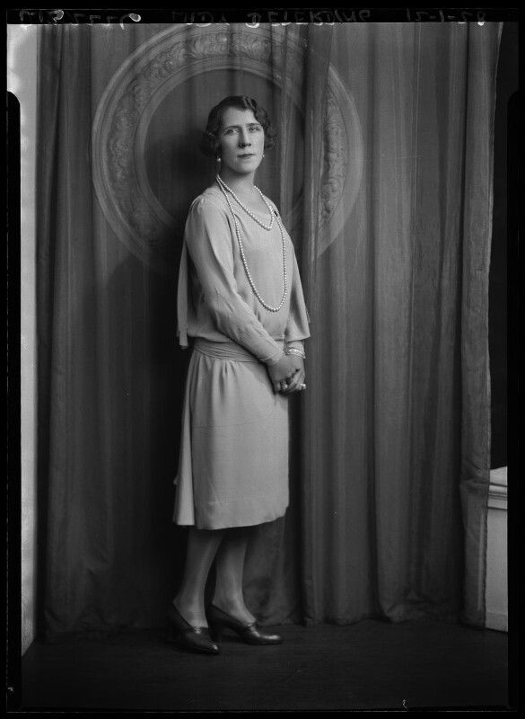 Lydia Pavlovna (née Kondayoroff), Lady Deterding, by Lafayette, 12 January 1928 - NPG x49546 - © National Portrait Gallery, London