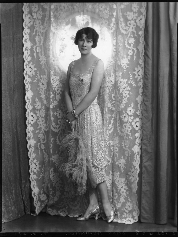 Kathleen (née Mason), Lady Aspinall, by Lafayette (Lafayette Ltd), 9 February 1928 - NPG x49561 - © National Portrait Gallery, London