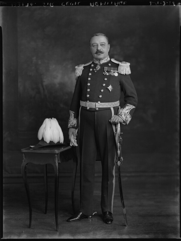 Sir (Stephen) Cecil Armitage, by Lafayette, 29 March 1928 - NPG x49645 - © National Portrait Gallery, London