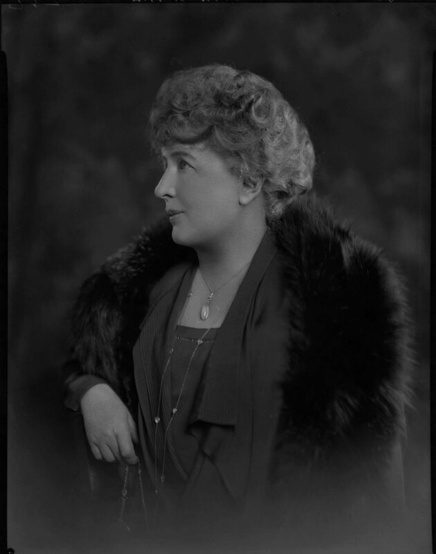 Katherine Mayo, by Lafayette (Lafayette Ltd), 5 June 1928 - NPG x49697 - © National Portrait Gallery, London