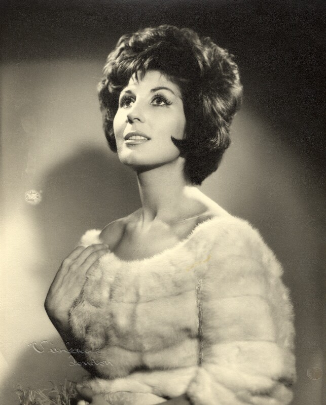 Alma Cogan, by Vivienne, 1960-1965 - NPG x87915 - © reserved; collection National Portrait Gallery, London