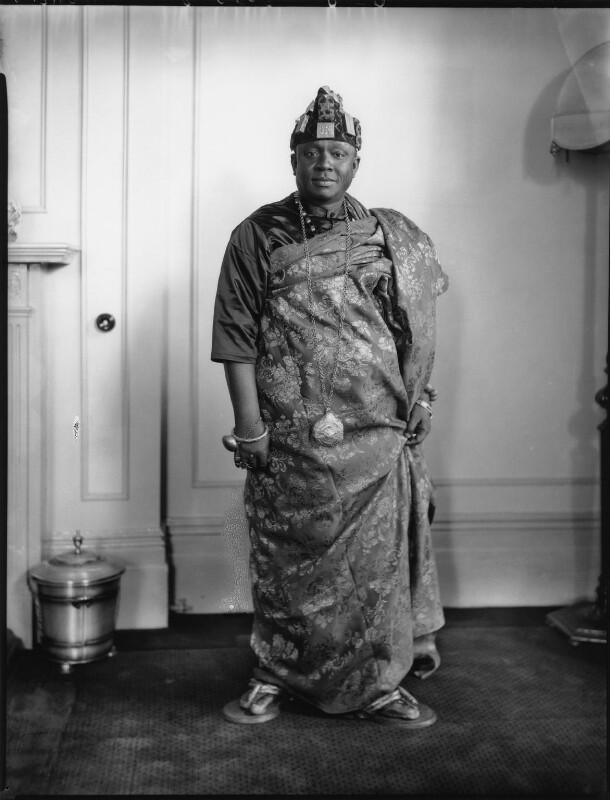 Nana Sir Ofori Atta, by Lafayette (Lafayette Ltd), 22 June 1928 - NPG x49765 - © National Portrait Gallery, London