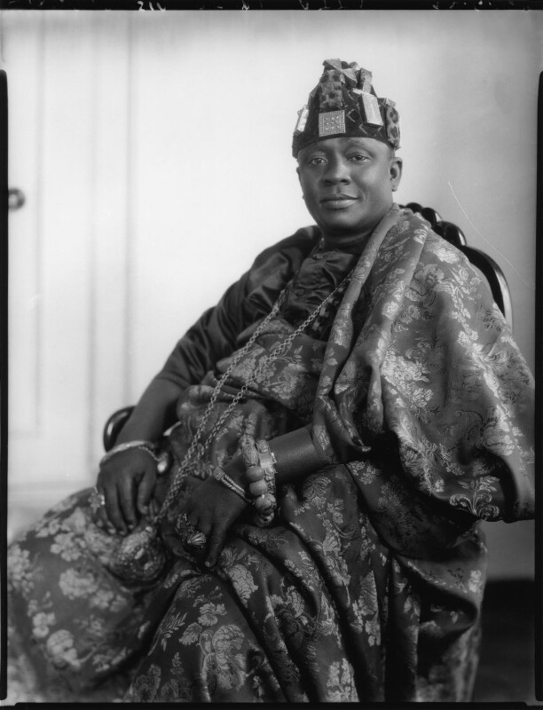 Nana Sir Ofori Atta, by Lafayette (Lafayette Ltd), 22 June 1928 - NPG x49767 - © National Portrait Gallery, London