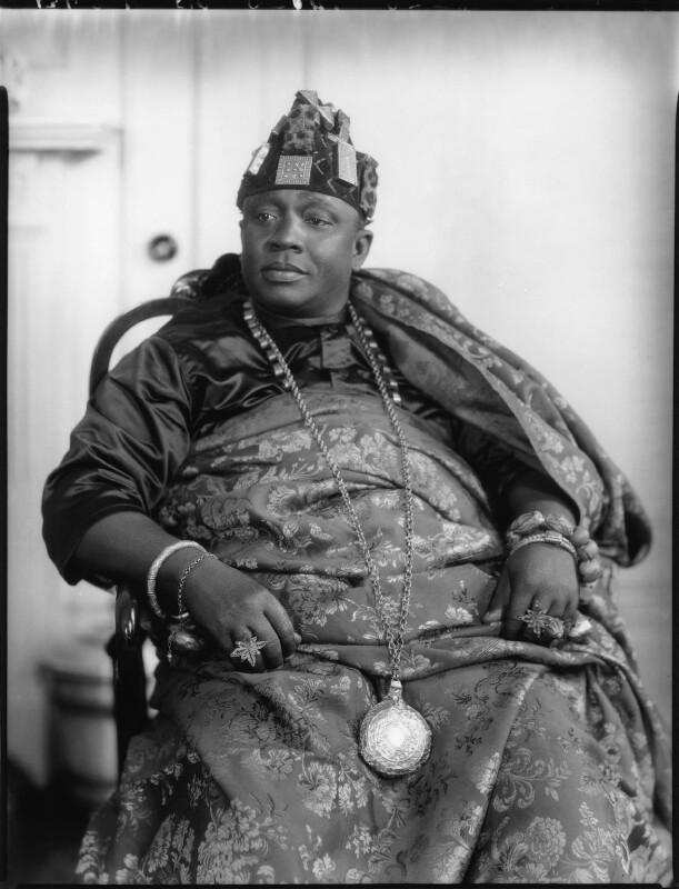 Nana Sir Ofori Atta, by Lafayette (Lafayette Ltd), 22 June 1928 - NPG x49768 - © National Portrait Gallery, London