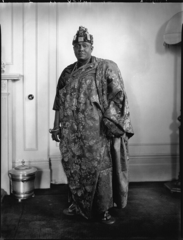Nana Sir Ofori Atta, by Lafayette, 22 June 1928 - NPG x49769 - © National Portrait Gallery, London