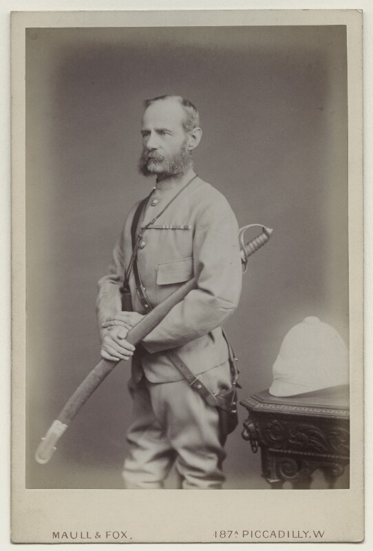 Frederick Sleigh Roberts, 1st Earl Roberts, by Maull & Fox, after 1877 - NPG x4978 - © National Portrait Gallery, London