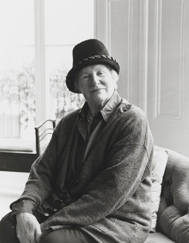Diana Athill, by Mark Gerson, April 2000 - NPG x88570 - © Mark Gerson / National Portrait Gallery, London