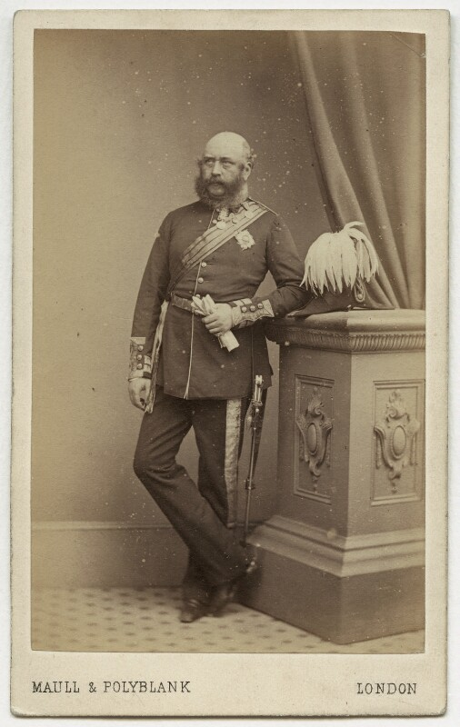 Prince George William Frederick Charles, 2nd Duke of Cambridge, by Maull & Polyblank, 1863-1864 - NPG x5025 - © National Portrait Gallery, London
