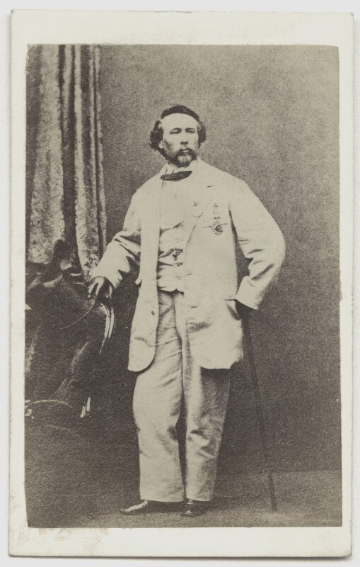 Charles Blondin, by Unknown photographer, 1860s - NPG x5038 - © National Portrait Gallery, London