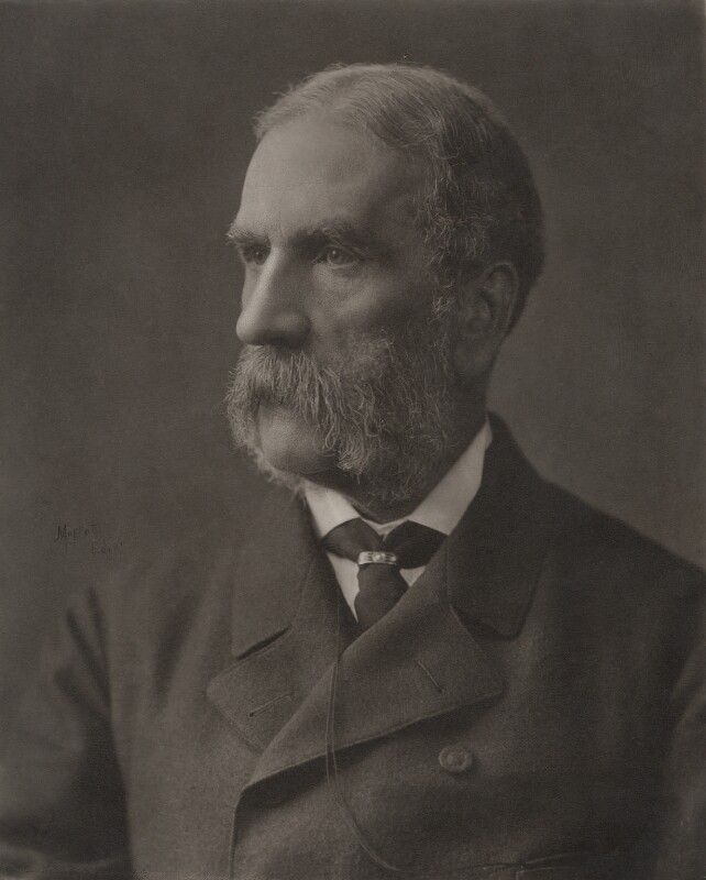 William Patrick Adam, by John Moffat, circa 1880 - NPG x5147 - © National Portrait Gallery, London