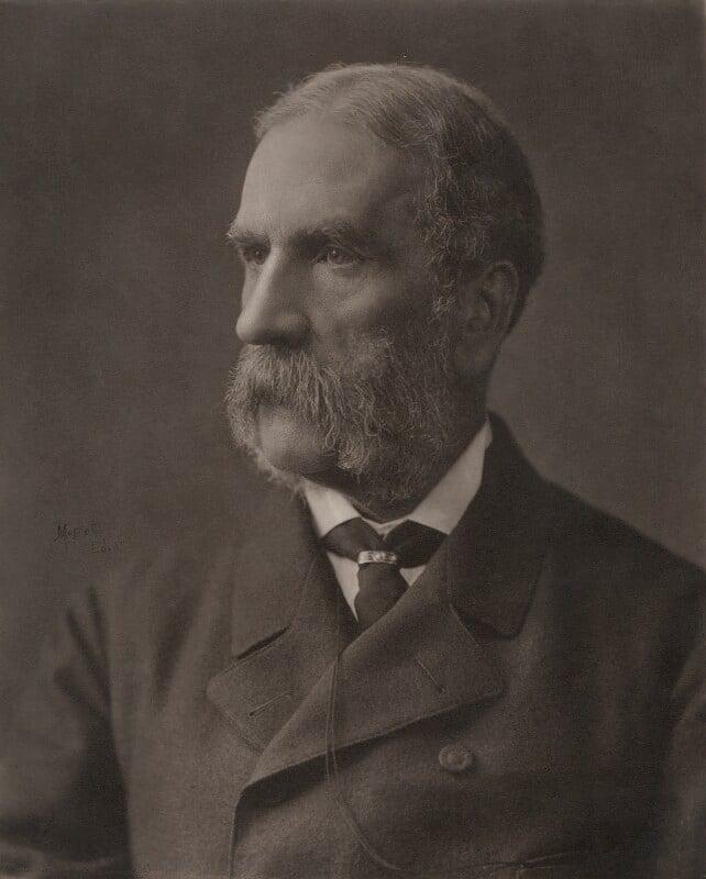 William Patrick Adam, by John Moffat, circa 1880 - NPG x5147 - © National Portrait Gallery, London