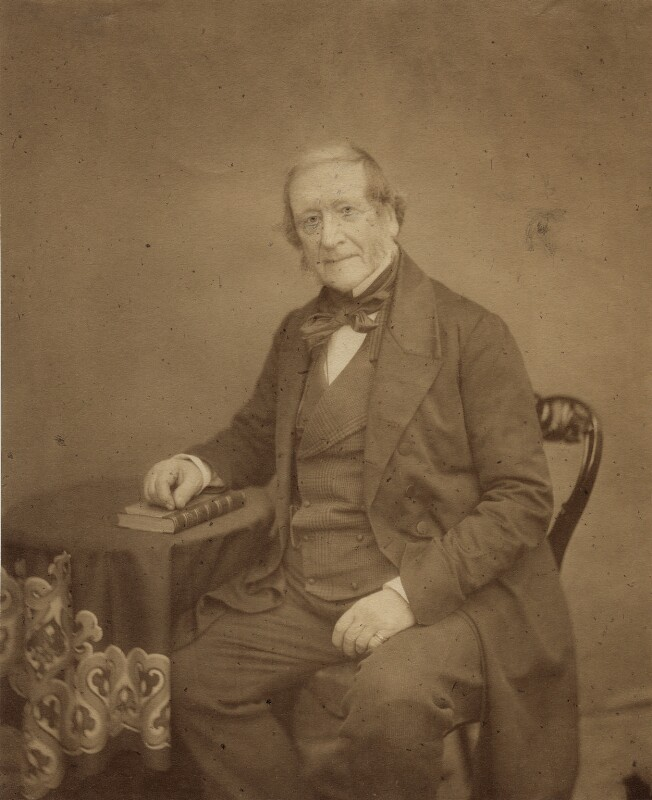 John Campbell, 1st Baron Campbell, by Maull & Polyblank, circa February 1857 - NPG x5185 - © National Portrait Gallery, London