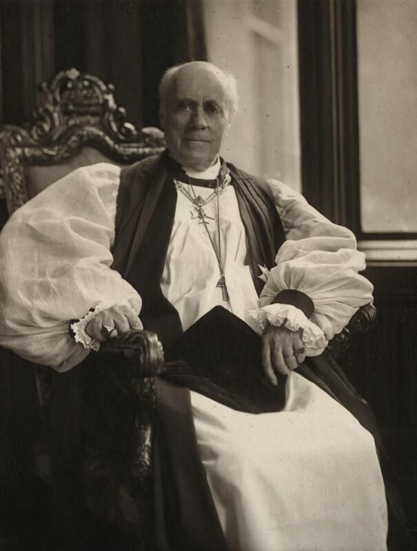 Randall Thomas Davidson, Baron Davidson of Lambeth, by (Mary) Olive Edis (Mrs Galsworthy), 1920s - NPG x5203 - © National Portrait Gallery, London