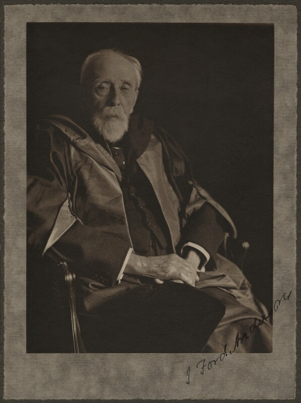 John Ford Anderson, by (Mary) Olive Edis (Mrs Galsworthy), 1900-1930 - NPG x5215 - © National Portrait Gallery, London
