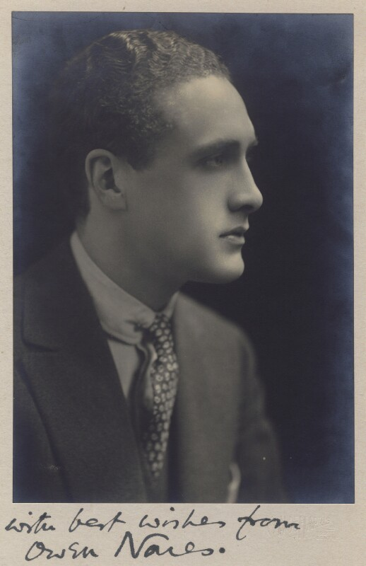 Owen Ramsay Nares, by Claude Harris, circa 1920 - NPG x5598 - © National Portrait Gallery, London